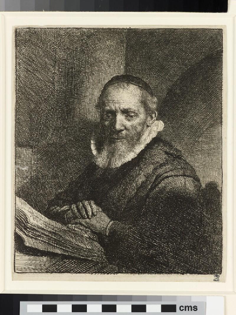 Portrait of Jan Cornelis Sylvius, Preacher