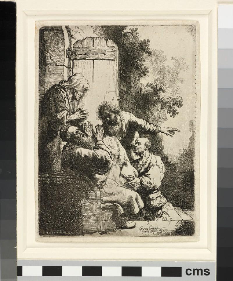 Joseph's coat brought to Jacob (WA1855.369)