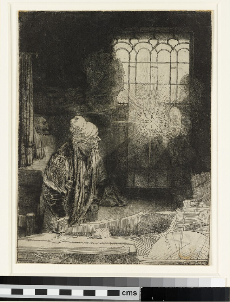 A Scholar in his Study (Faust)