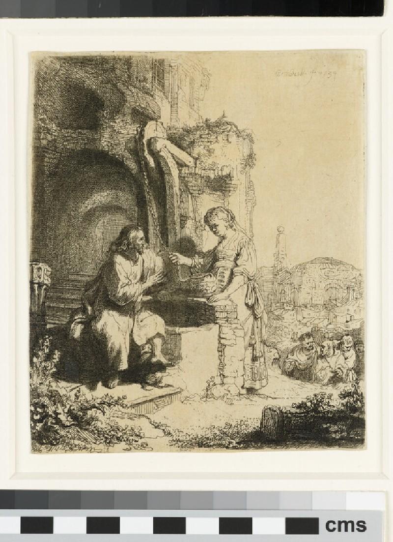 Christ and the Woman of Samaria among Ruins (John 4:5-20) (WA1855.414)
