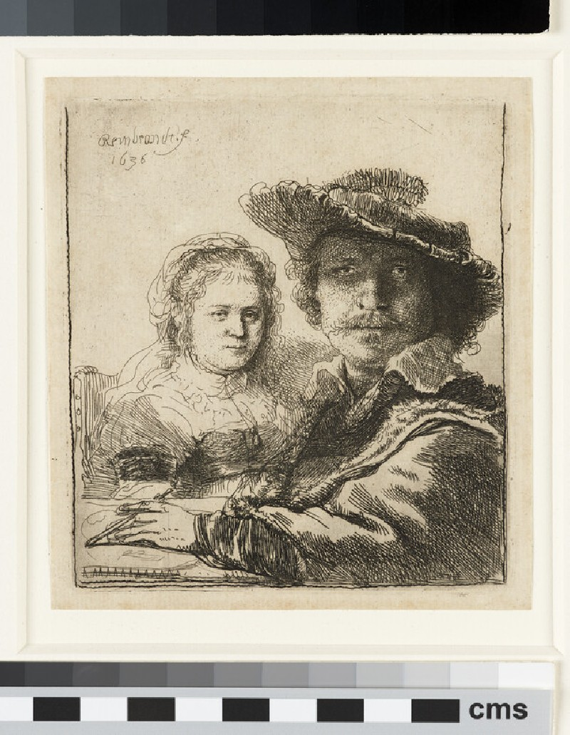 Self-portrait with Saskia (WA1855.437)