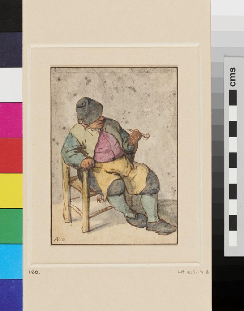 A Peasant seated (WA1855.48, recto)