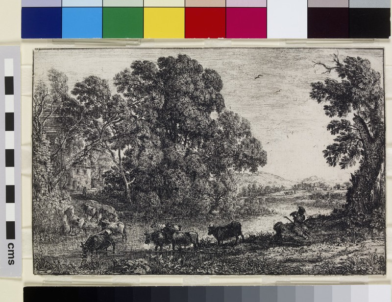Le Bouvier (The cowherd) (WA1855.516)