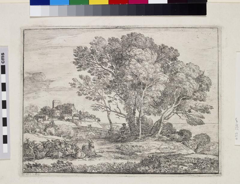 Le chevrier (The goatherd) (WA1855.527)