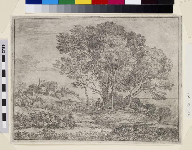 Le chevrier (The goatherd) (WA1855.528)