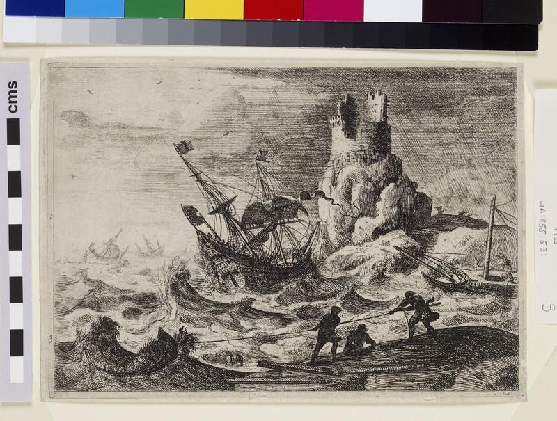 Le Naufrage (the shipwreck) (WA1855.531)