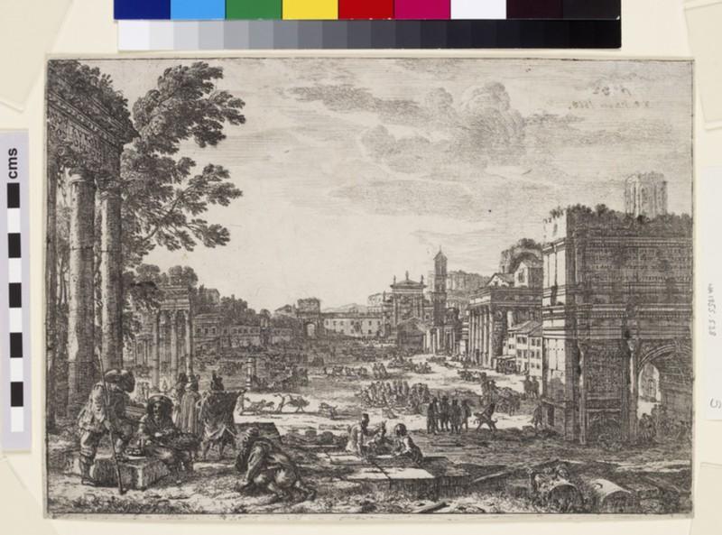 Le Campo Vaccino (The Roman Forum)