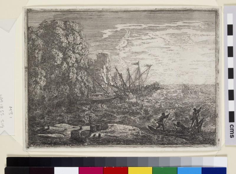 La Tempête (The Tempest) (WA1855.548)
