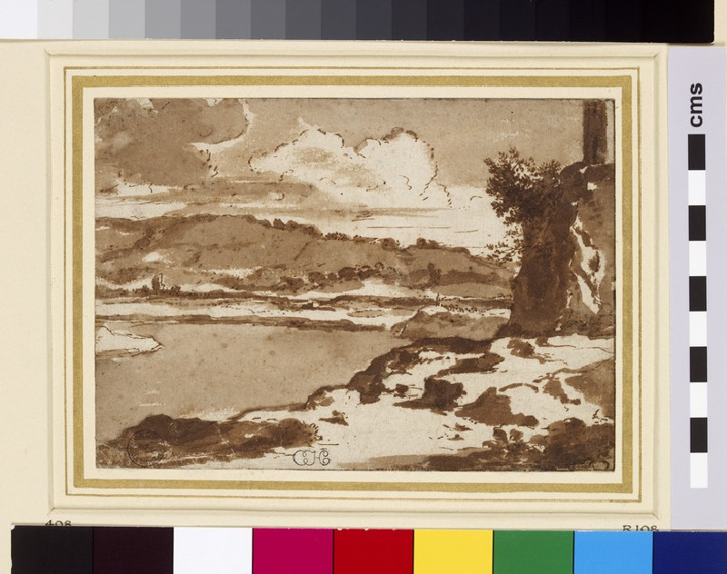 View on the Tiber (WA1855.69)