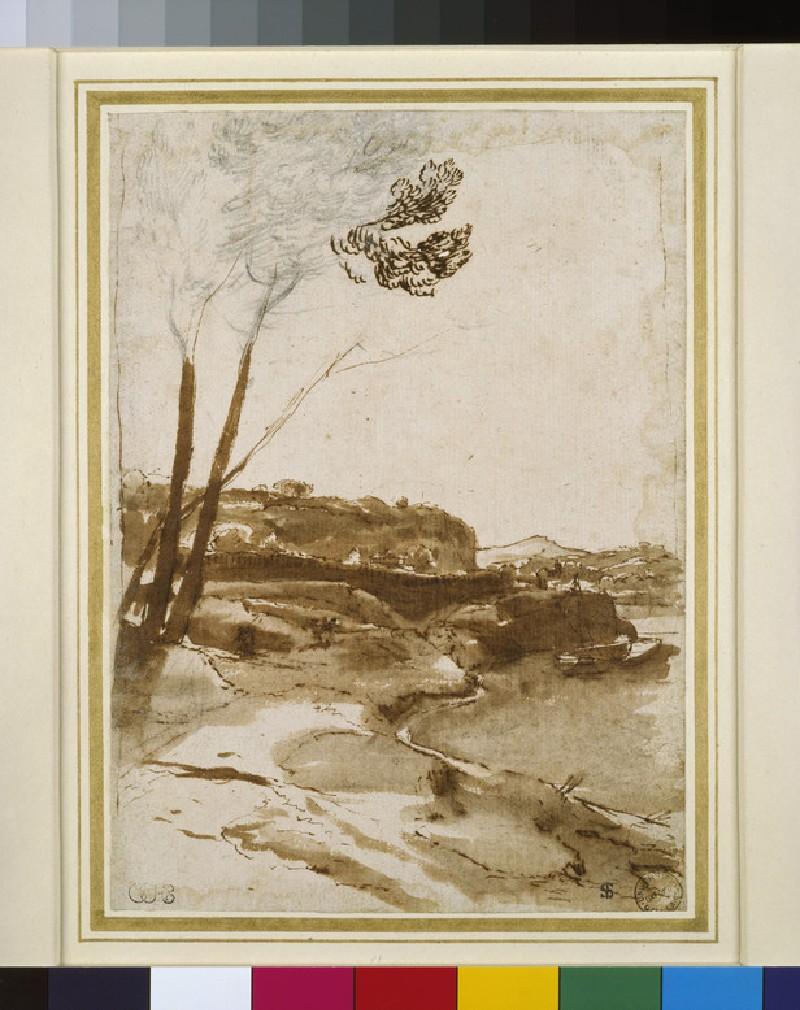 Path along the Tiber (WA1855.70)