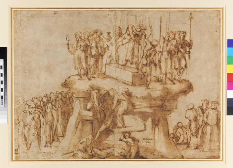 The Descent from the Cross (WA1855.87, verso)