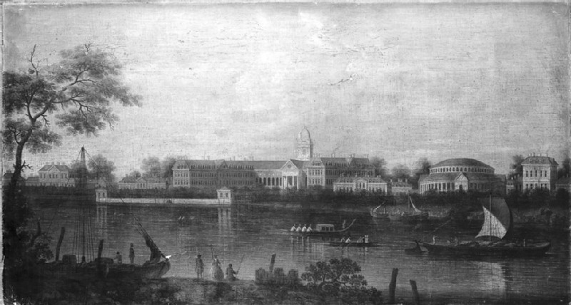 The Thames at Chelsea Hospital (WA1861.1)