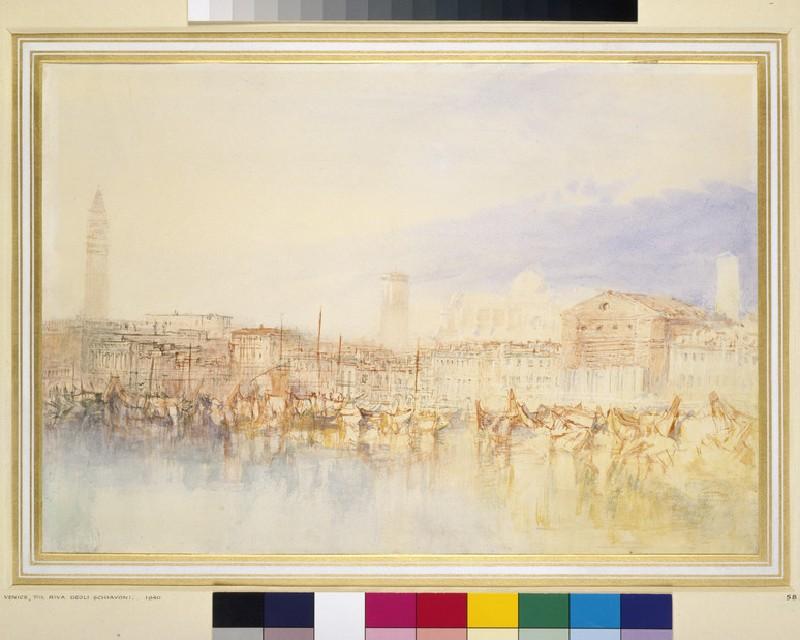Venice: The Riva degli Schiavoni (WA1861.10)