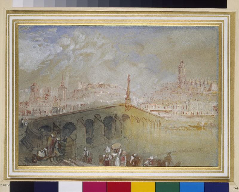 The Bridge at Blois: Fog Clearing (WA1861.15)
