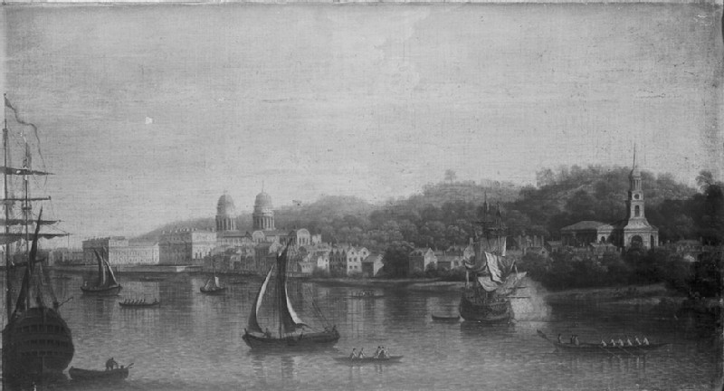 The Thames at Greenwich (WA1861.2)