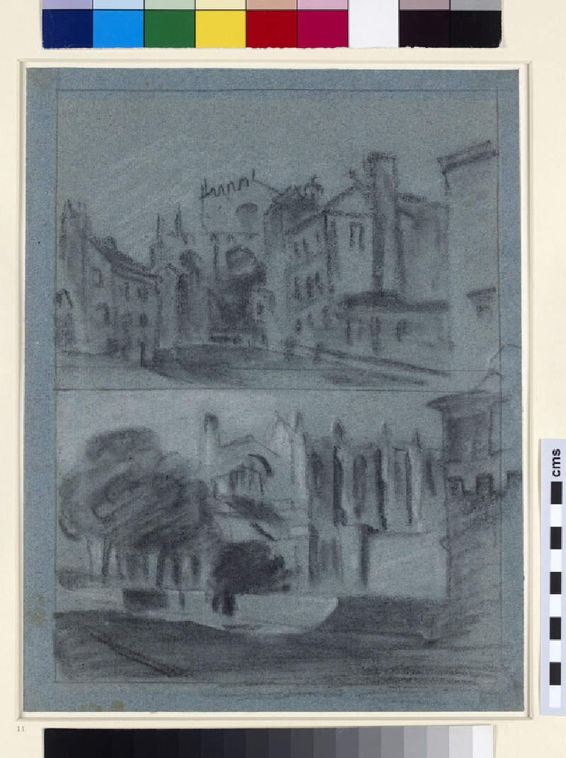 Two Views of Eton College (WA1861.39)