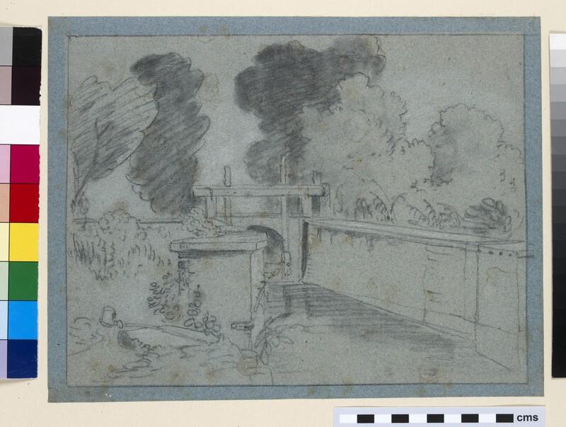 A Sluice on the Thames near Eton (WA1861.45)