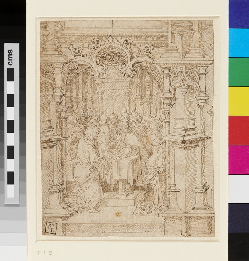 The Presentation in the Temple (WA1863.135, recto)