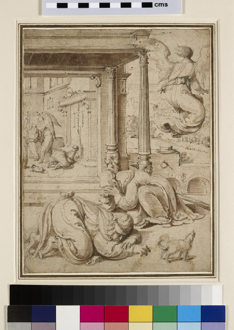 Scene from the Story of Tobit (WA1863.139)