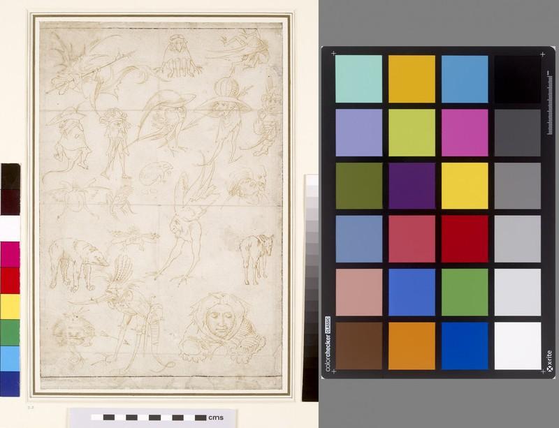 Recto: Grotesque Studies <br />Verso: Grotesque Studies (WA1863.155)