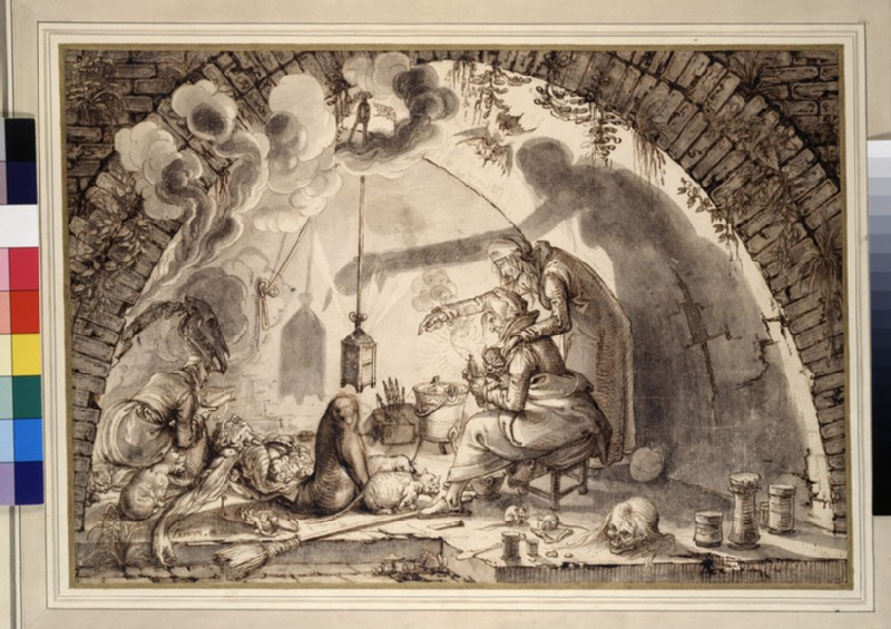 A Witches' Kitchen (WA1863.169)
