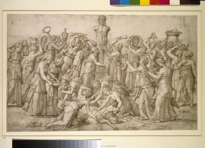 Sacrifice to Priapus (WA1863.188)