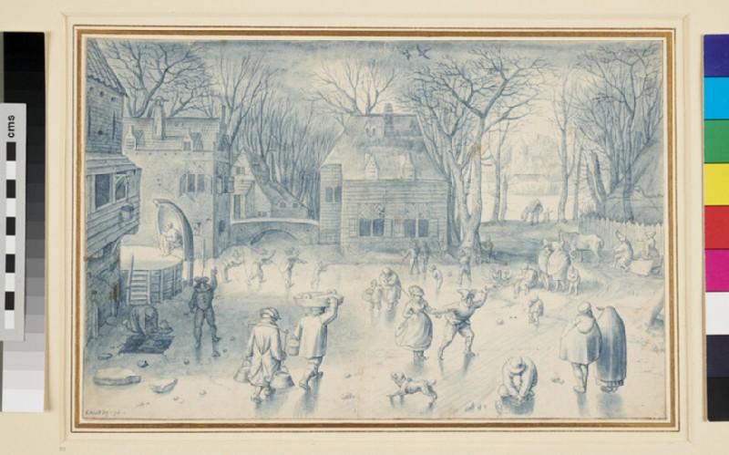 Scene on the Ice