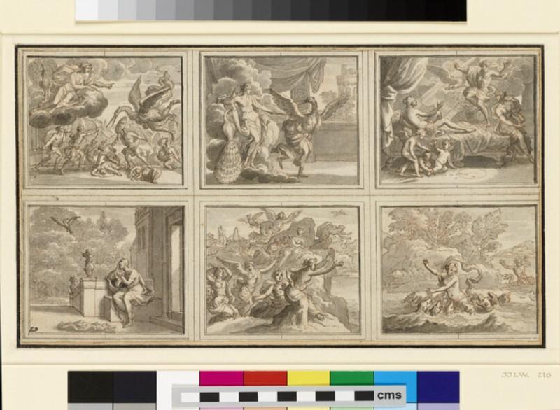 Six Illustrations for Ovid's 'Metamorphoses' (WA1863.21)