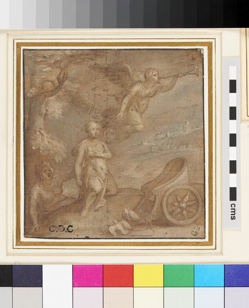 A Christian Allegory (WA1863.210, recto)
