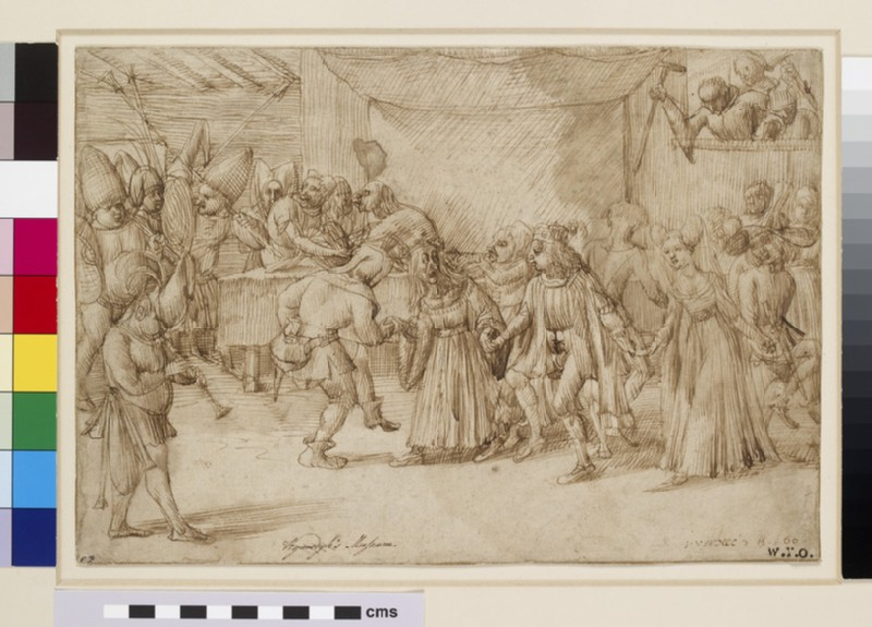 A grotesque Dance (WA1863.213)