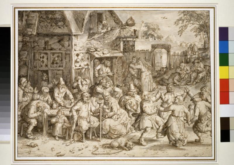 A rustic Feast (WA1863.218)