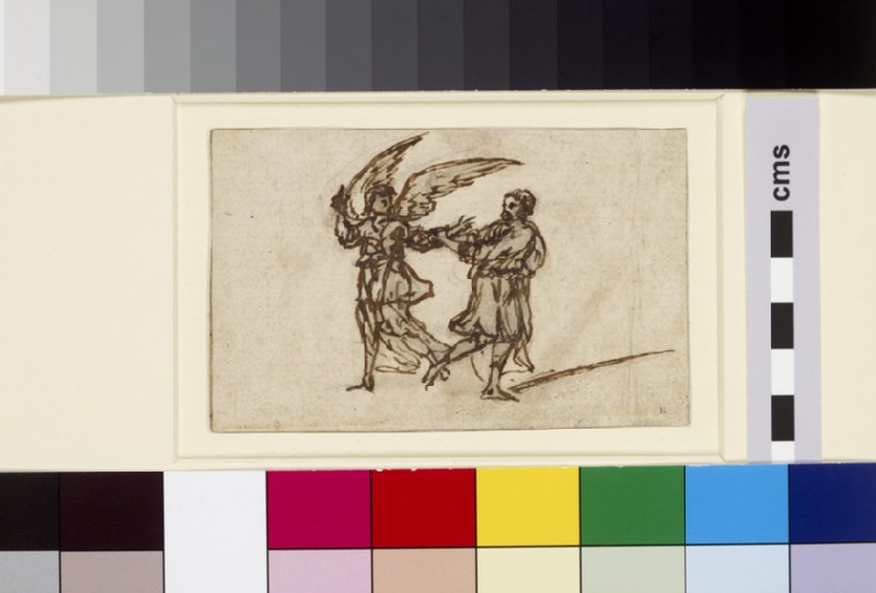 Jacob wrestling with the Angel (WA1863.23)