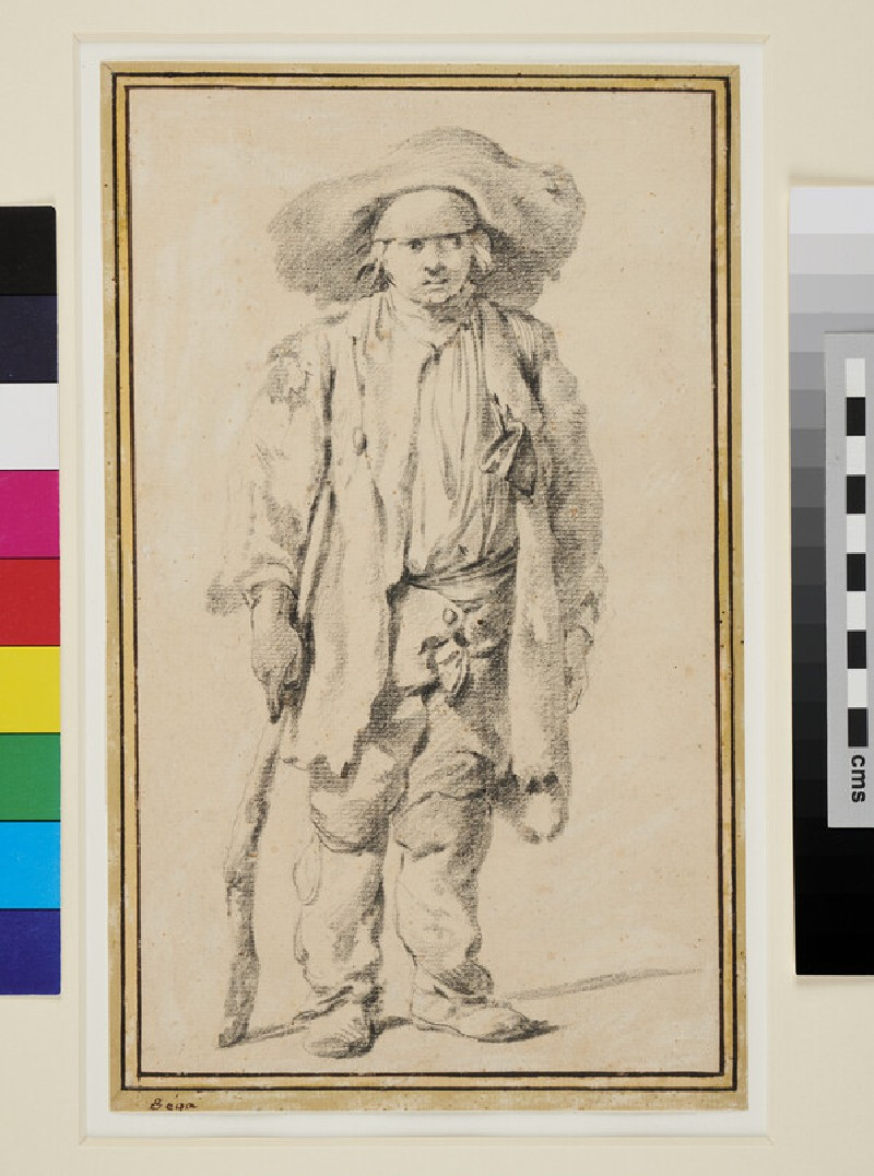 A Boy in ragged Clothes