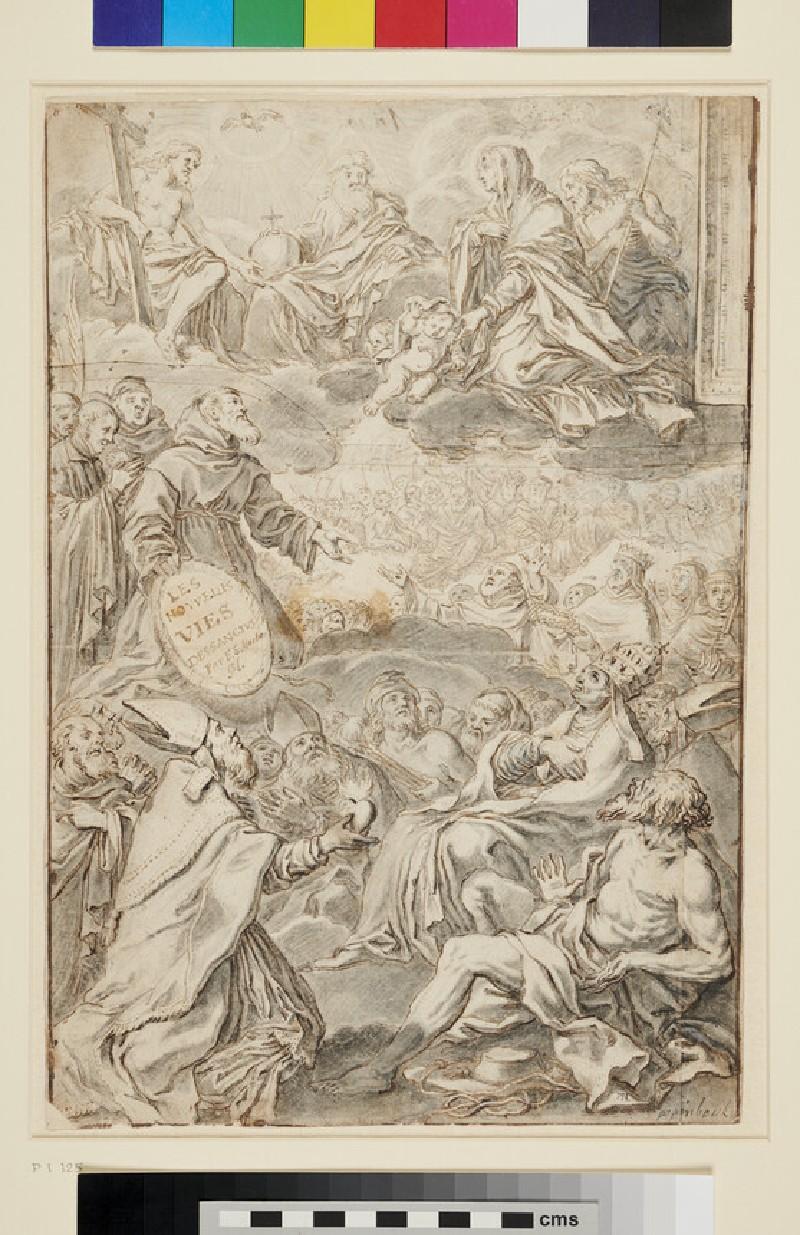 The Adoration of the Trinity (WA1863.245, recto)