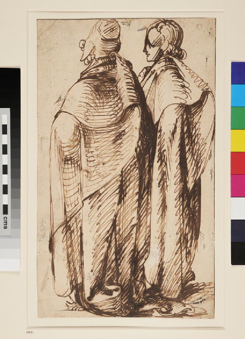 Two Men standing (WA1863.250, recto)