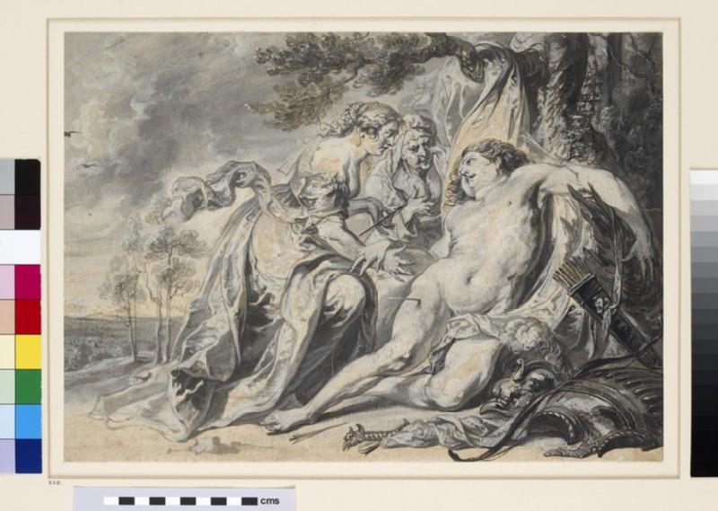 St Sebastian succoured by St Irene