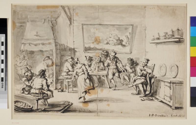 Tavern Scene (WA1863.302, recto)