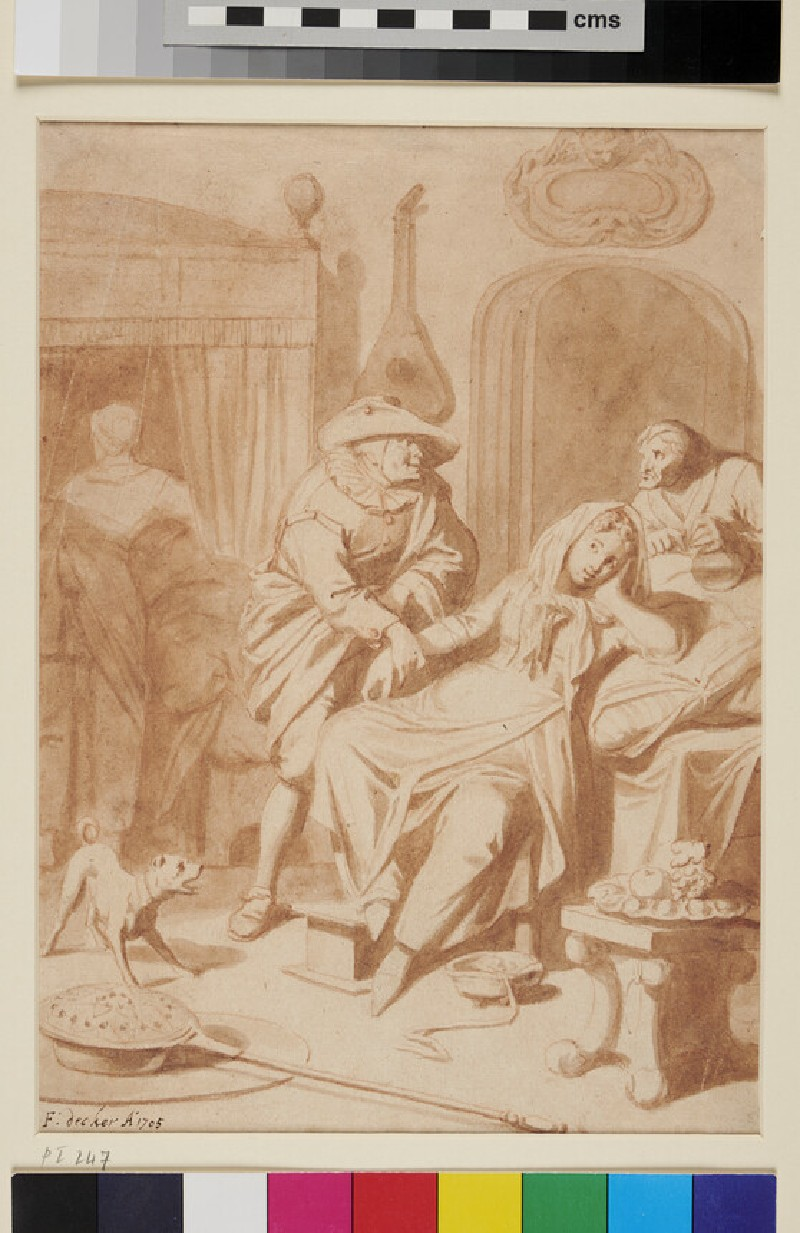 The Physician's Visit (WA1863.303, recto)