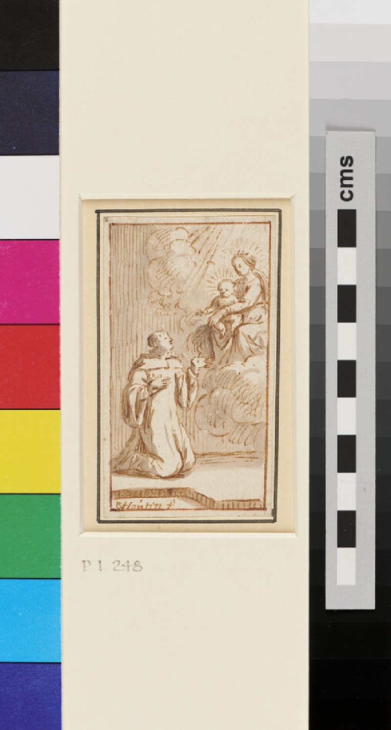 A Vision of our Lady (WA1863.304, recto)