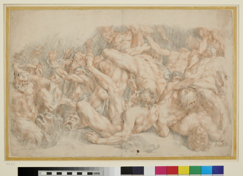 The Fall of the Rebel Angels (WA1863.351, recto)