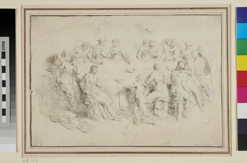Feast of the Gods (WA1863.371, recto)