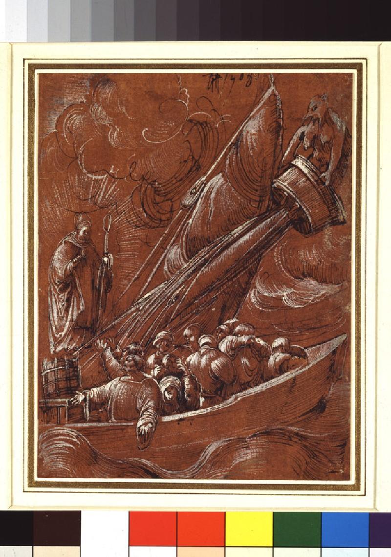 St Nicholas of Bari rebuking the Tempest