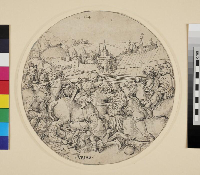 Uriah the Hittite killed in Battle