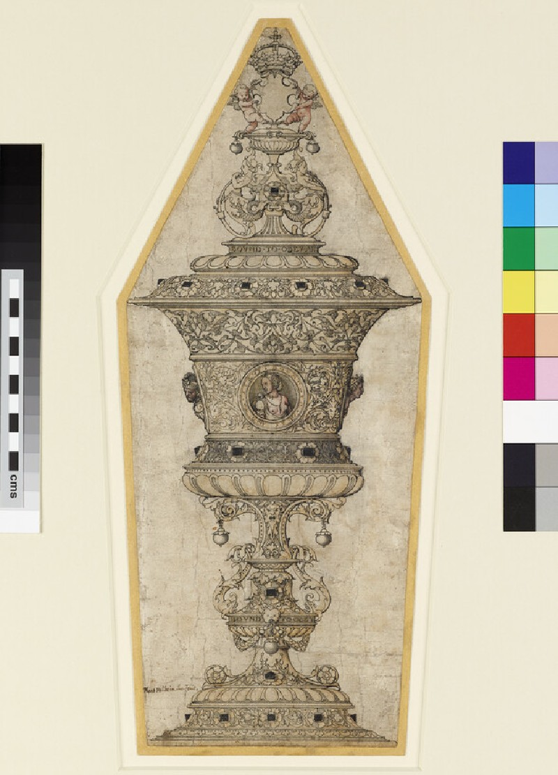 Design for the Jane Seymour gold cup (WA1863.424)