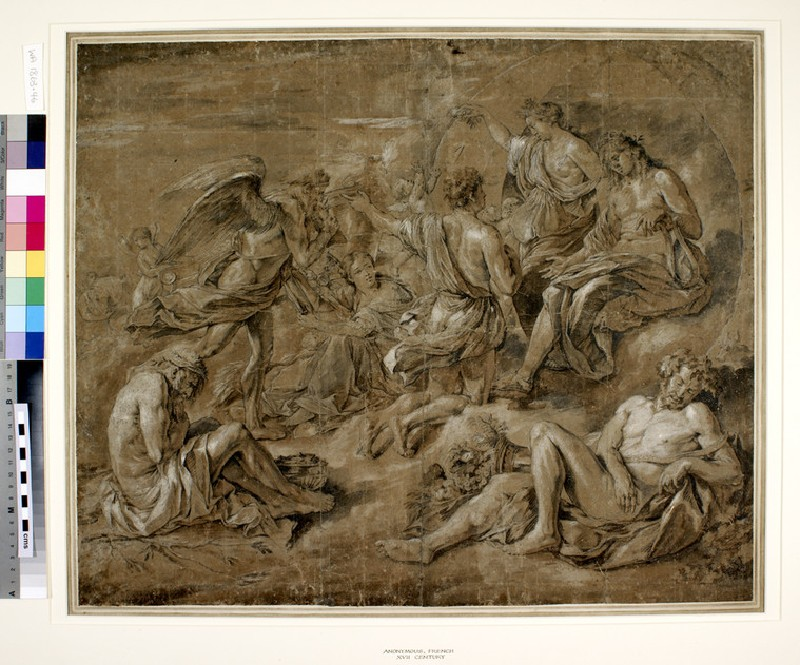 Phaeton begging for the Chariot of Apollo (WA1863.46)