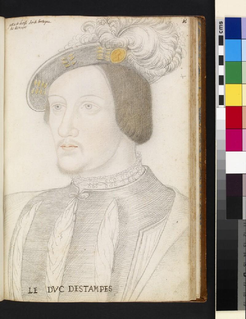 Jean de Brosses, duc d'Etampes (WA1863.5.44)