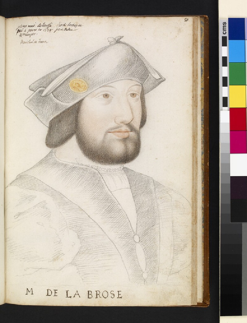 Portrait of Jacques de Brosse (possibly)