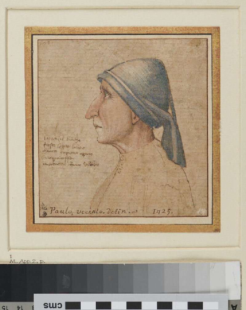 Portrait of a Man (WA1863.611, recto)