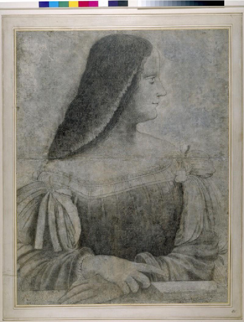 Portrait of Isabella d'Este (WA1863.617)