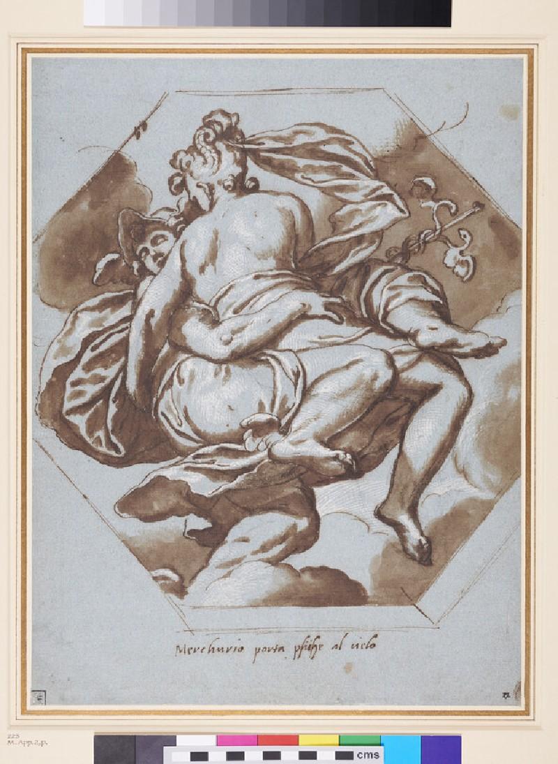 Mercury and Psyche (WA1863.648, recto)